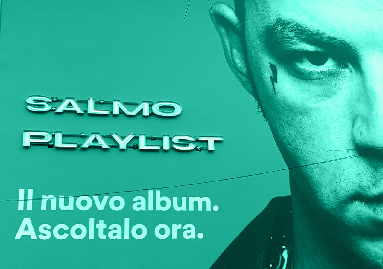 "LANCIO ALBUM ""PLAYLIST"" DI SALMO SPOTIFY/SONY"
