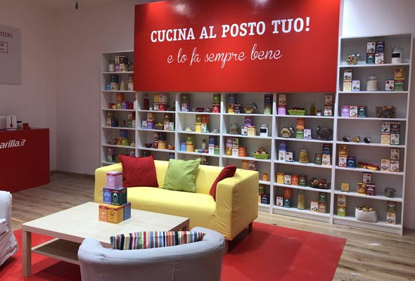 CUCINA BARILLA – TEMPORARY STORE VALMONTONE OUTLET