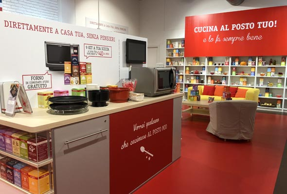 CUCINA BARILLA – TEMPORARY STORE THE STYLE OUTLETS